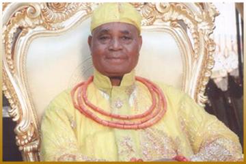 Dr. Chief Osawaru Igbinedion Esama of Benin Kingdom